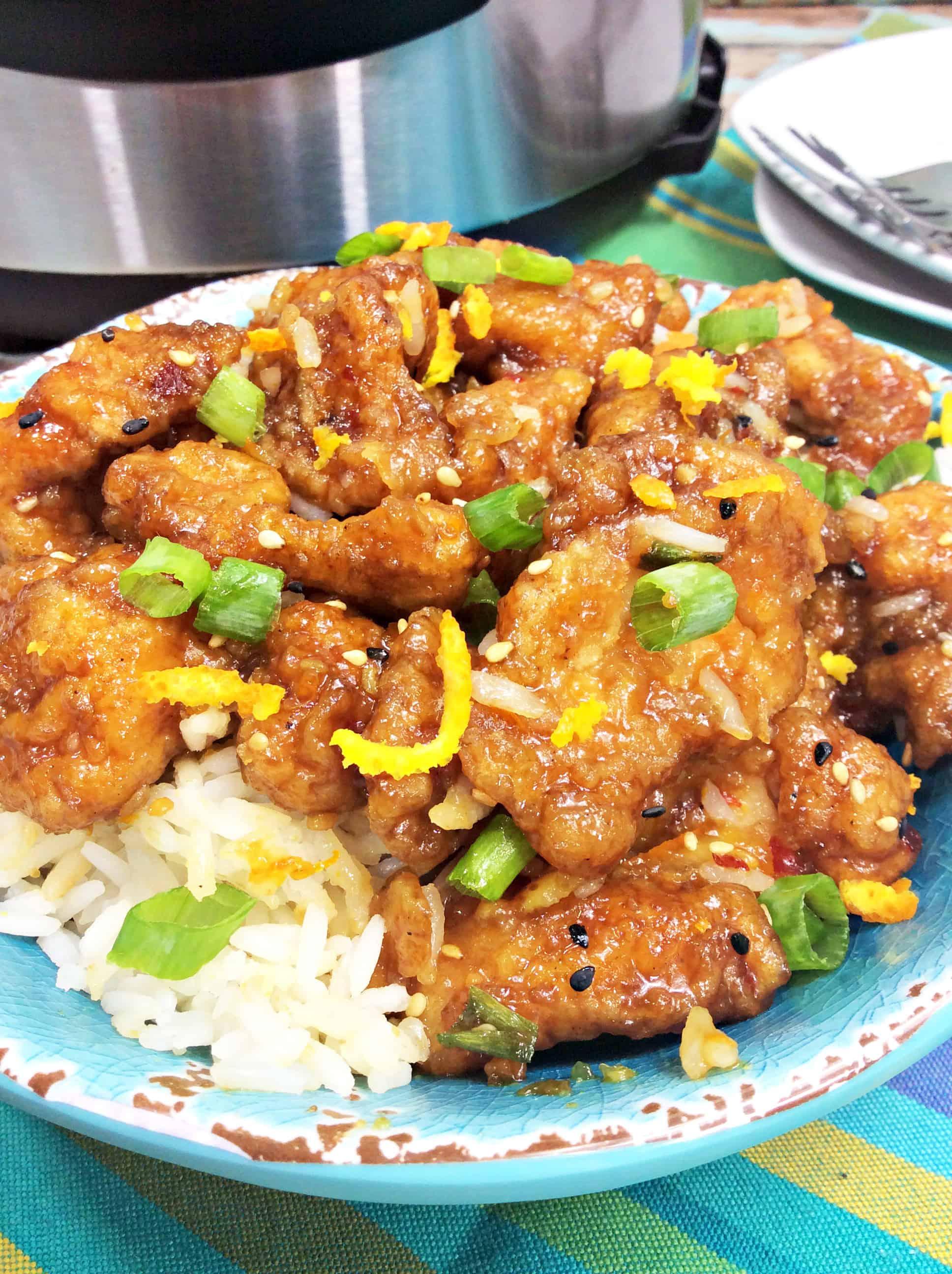 Instant Pot Orange Chicken Recipe