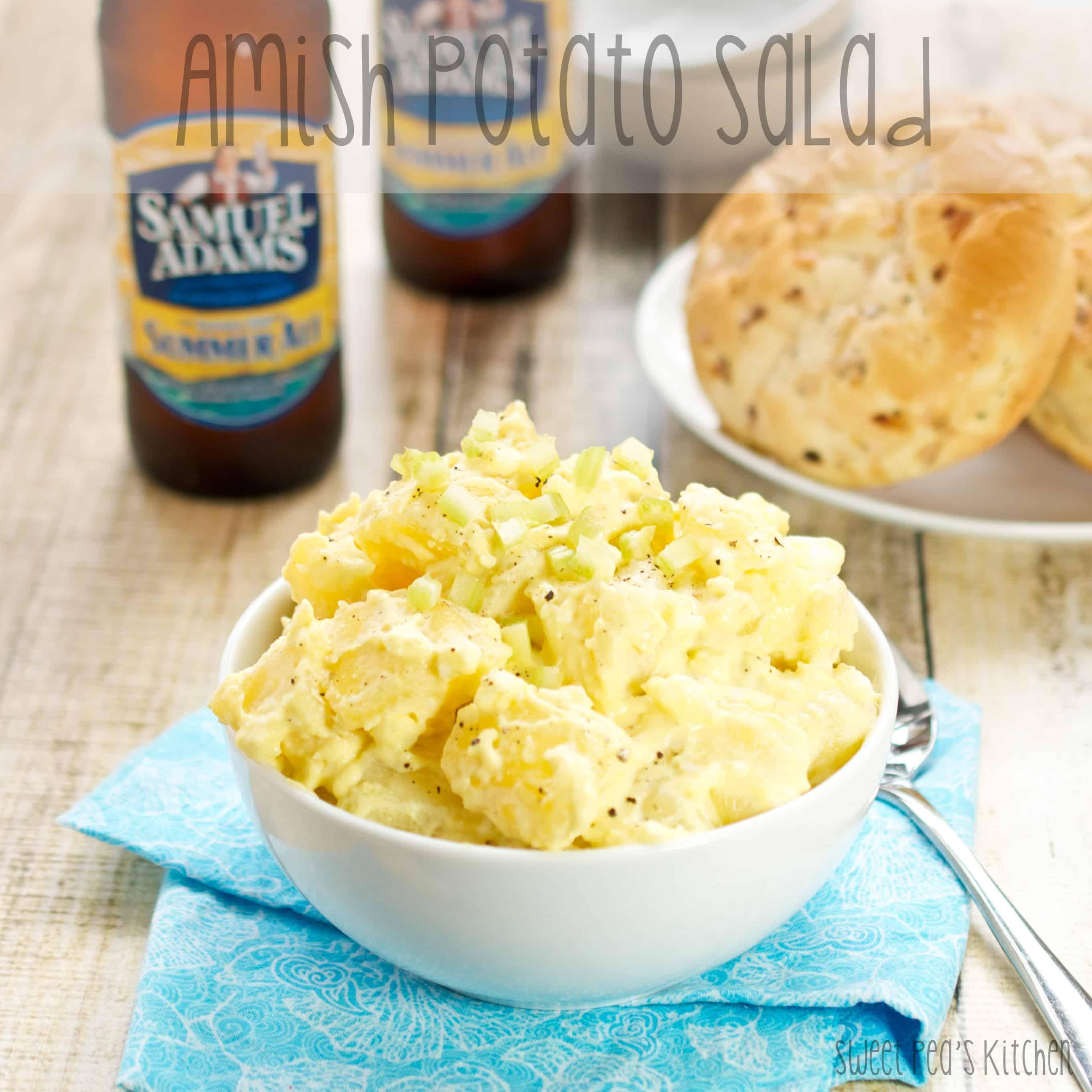 ready to serve amish potato salad