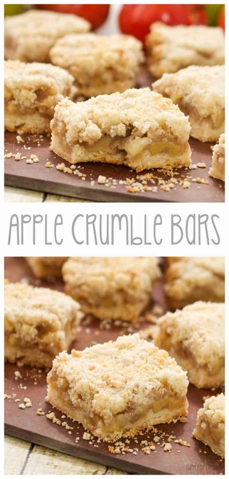 Easy Apple Crumble Bars
