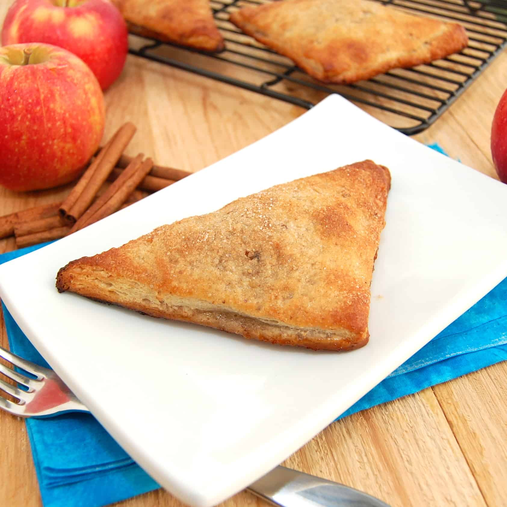 ready to eat easy apple turnover