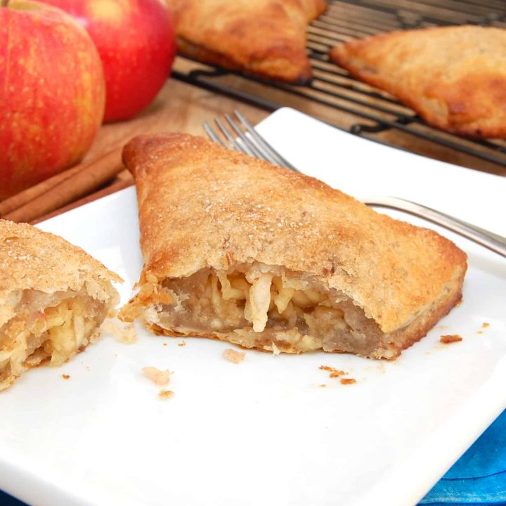 ready to serve homemade apple turnover