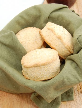 basket of easy buttermilk biscuits