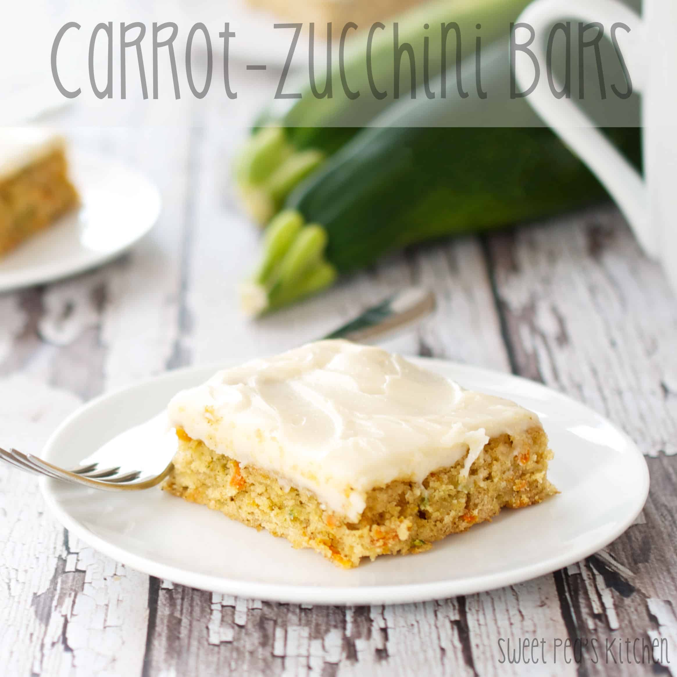 Carrot-Zucchini Bars with Cream Cheese Frosting