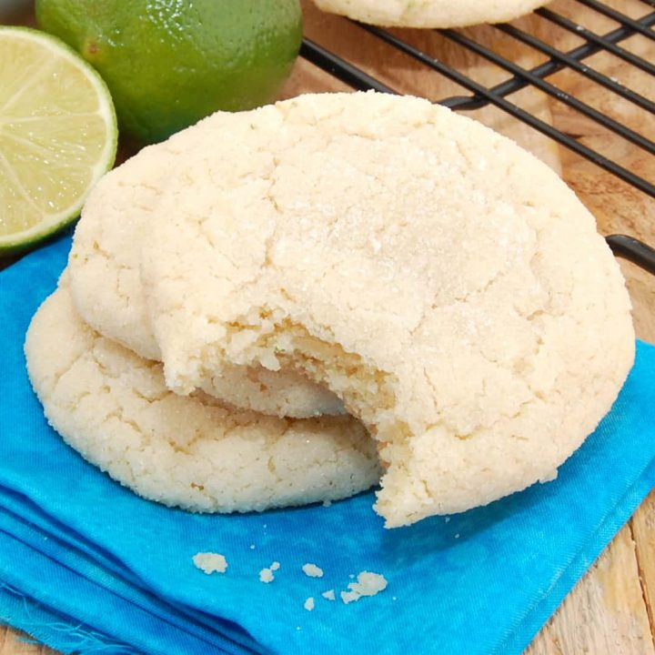Chewy Coconut Lime Sugar Cookies Recipe