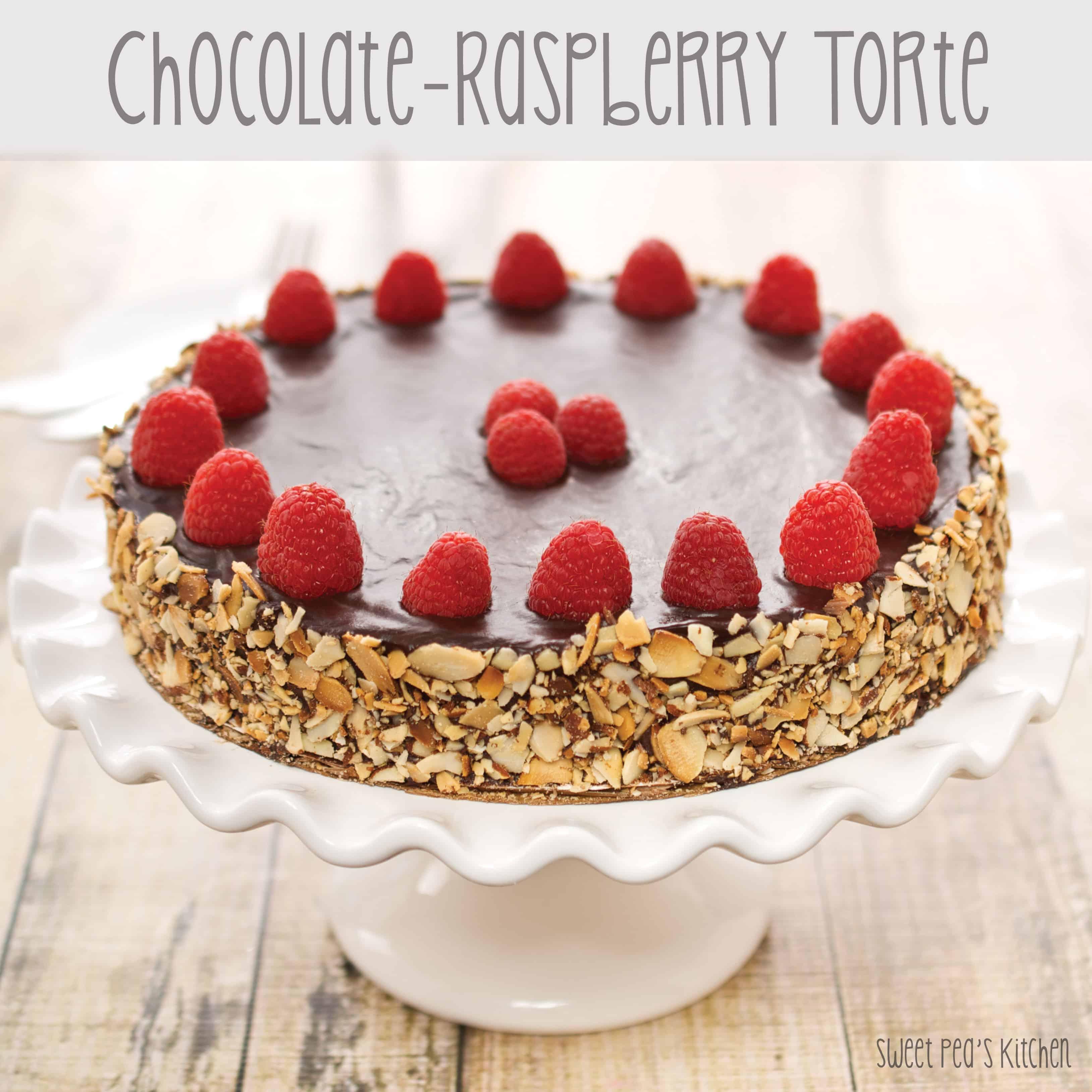 Raspberry Chocolate Cake Torte Recipe