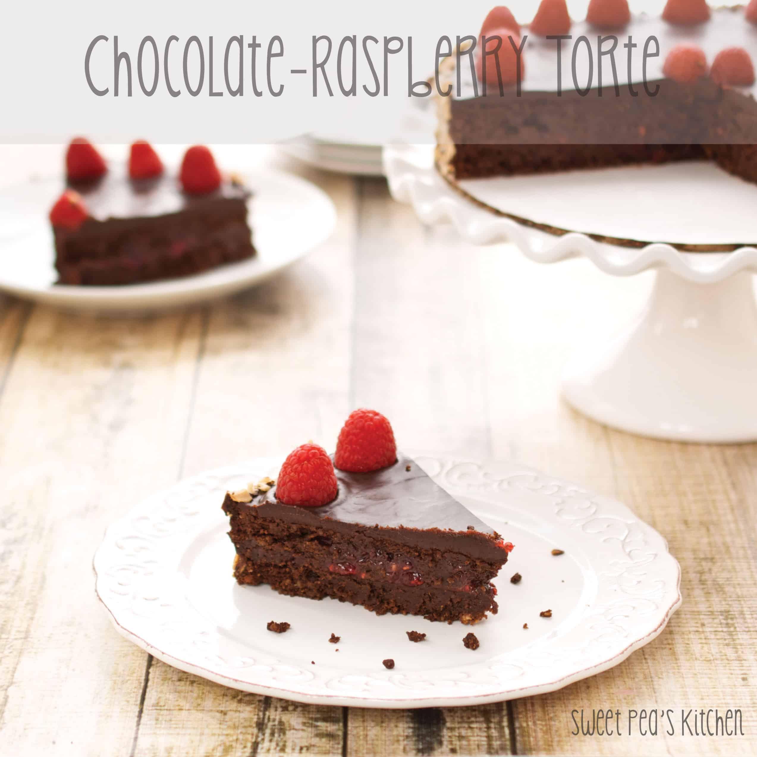 chocolate torte cake slice