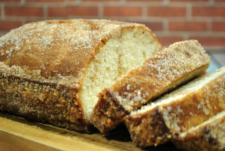 cinnamon sugar donut bread