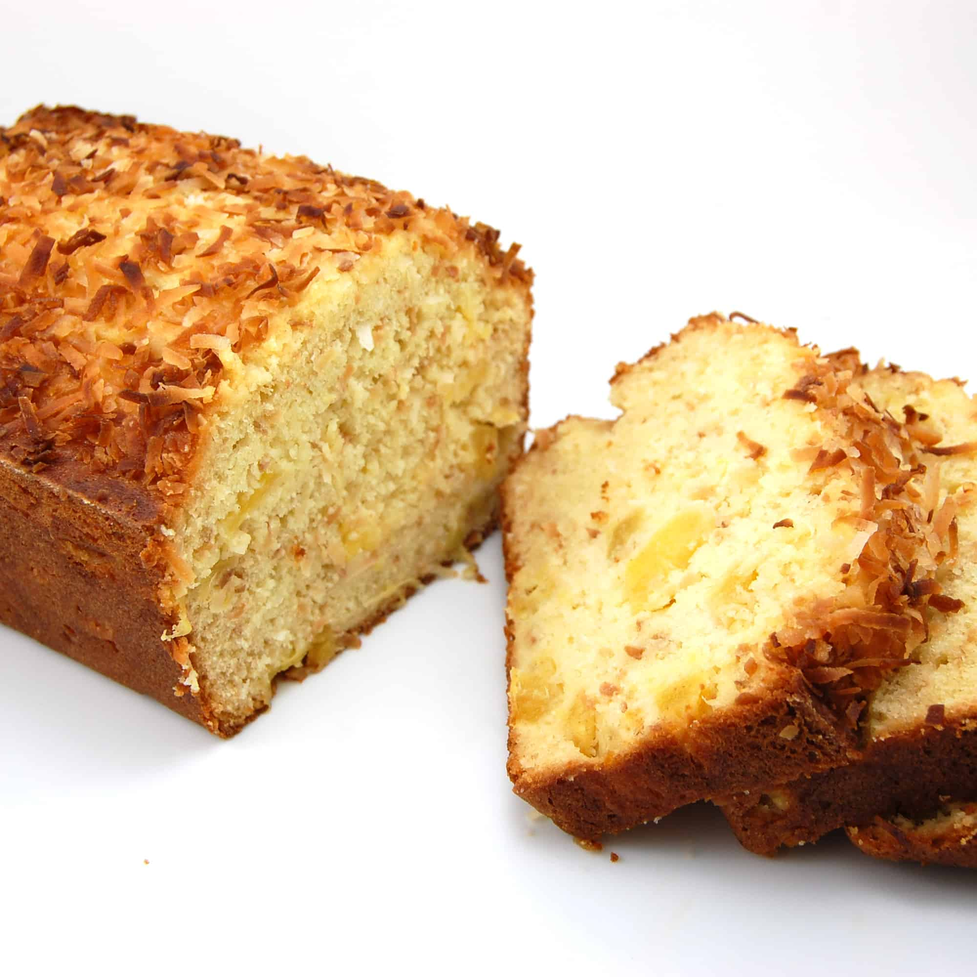 pina colada bread ready to eat