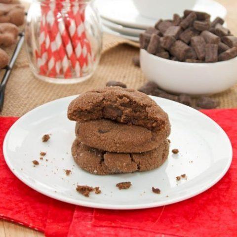 Double-Chocolate Brownie Bites