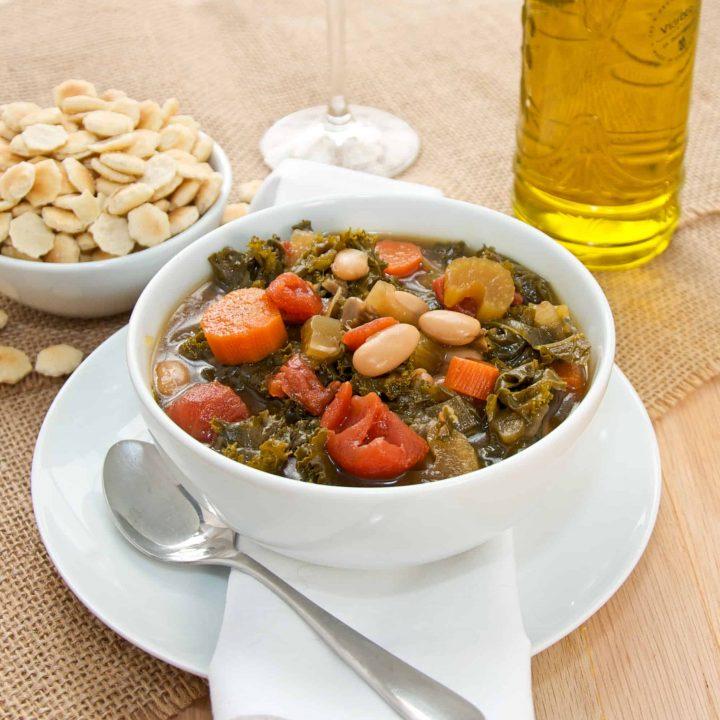 Vegetarian Tuscan Bean Stew