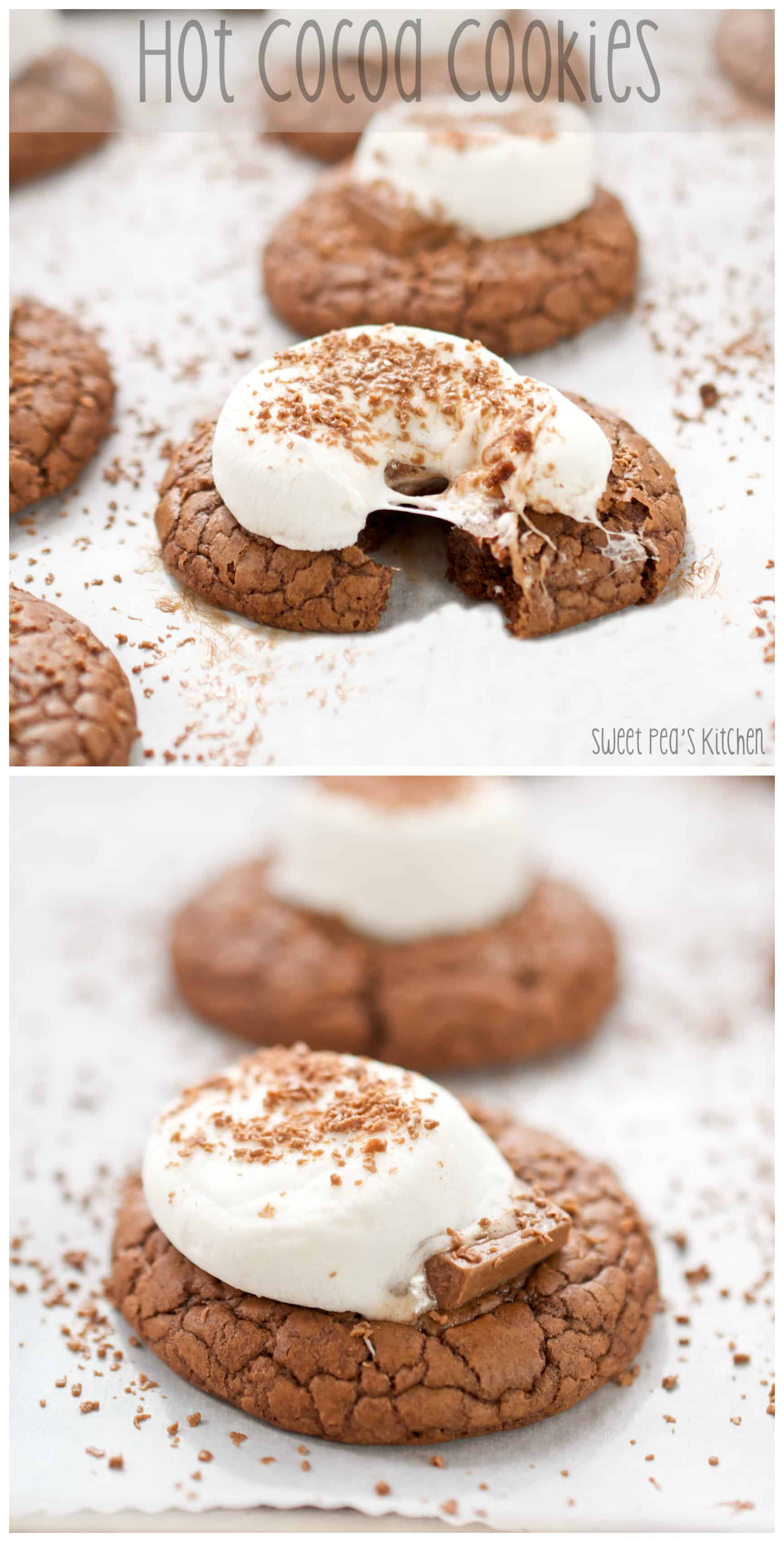 Hot Cocoa Cookies - PIN Image