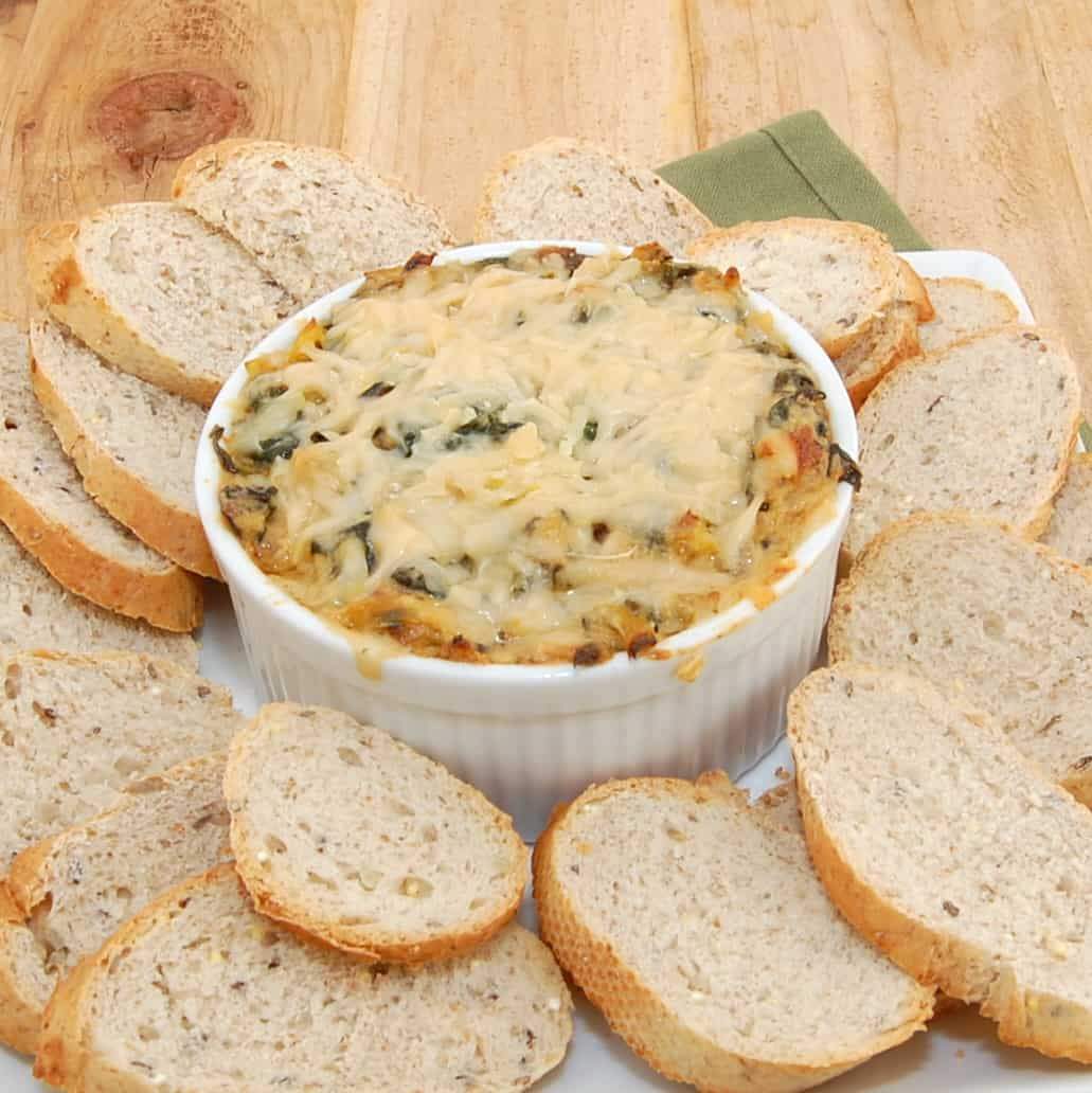 ready to serve spinach dip