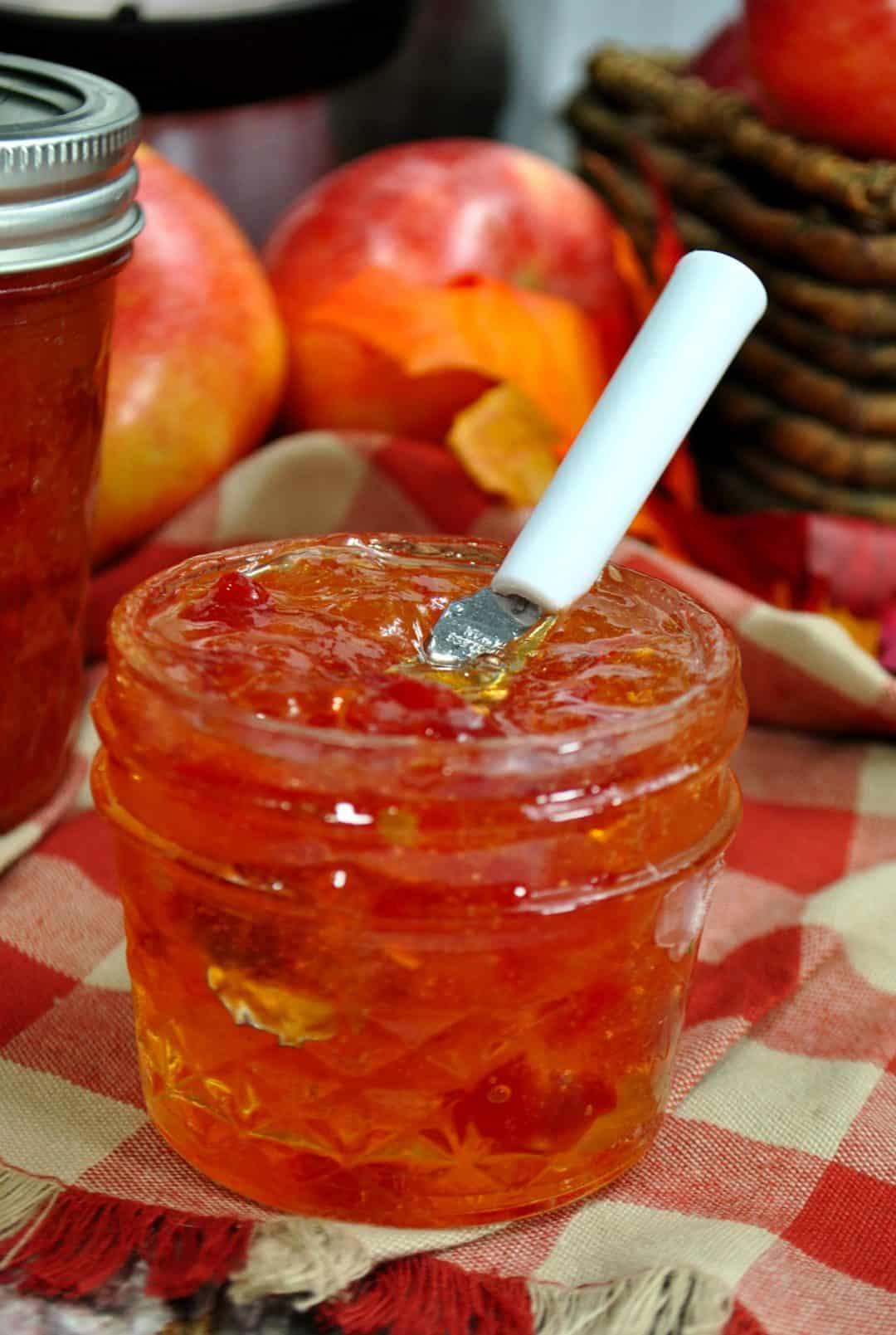 Instant Pot Apple Pepper Jelly Recipe