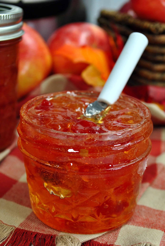 Instant Pot apple pepper jelly