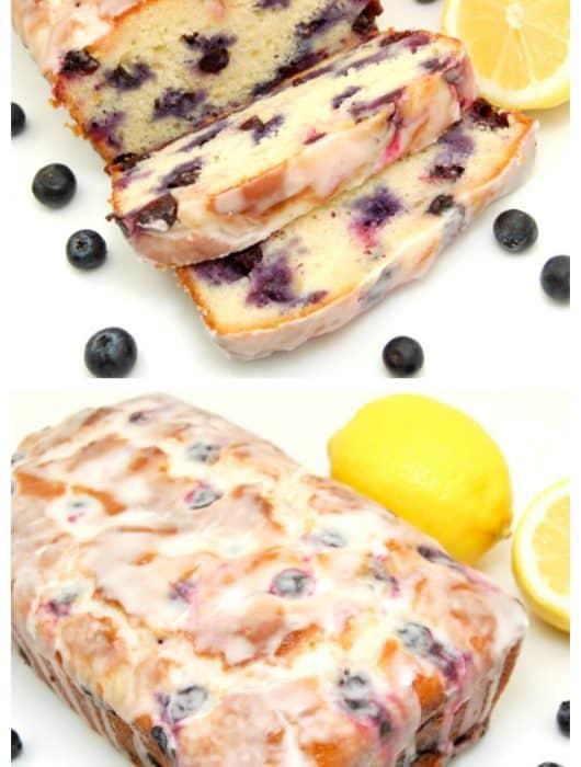 Lemon-Blueberry Yogurt