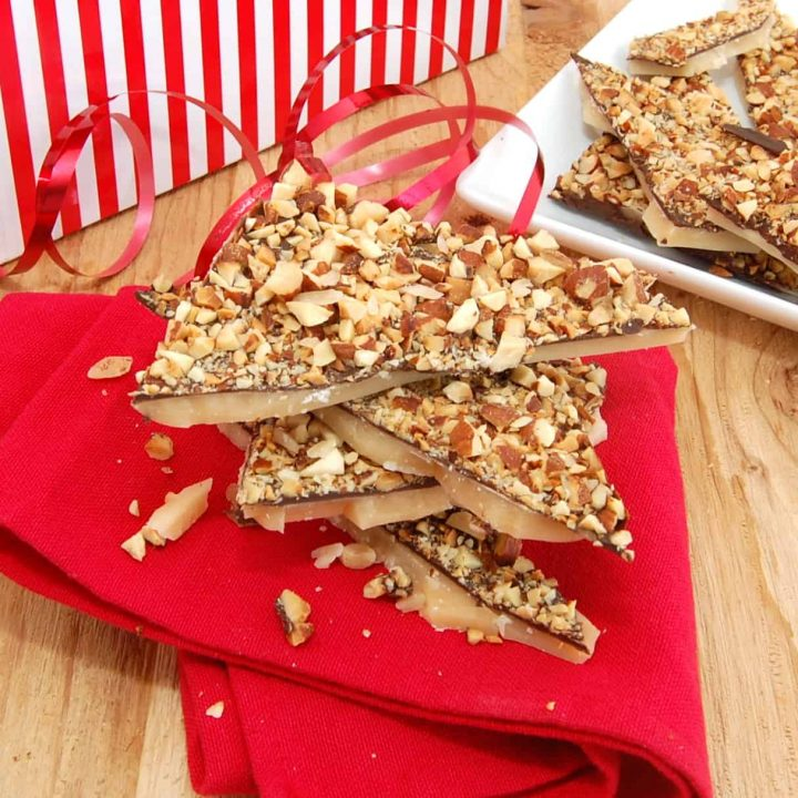 Old Fashioned Butter Crunch Candy