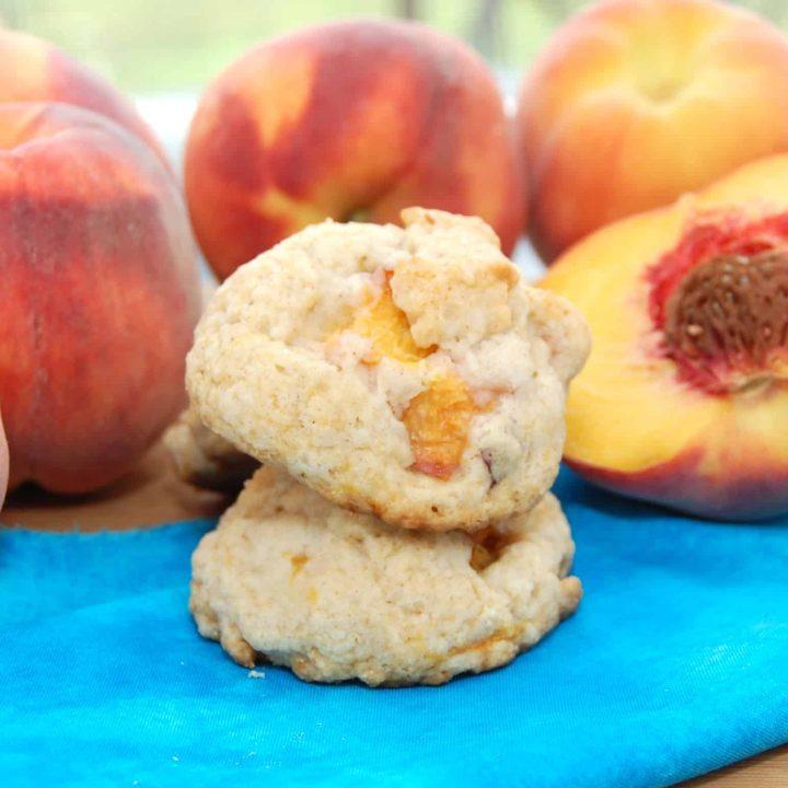 Peach Shortcake Cookies