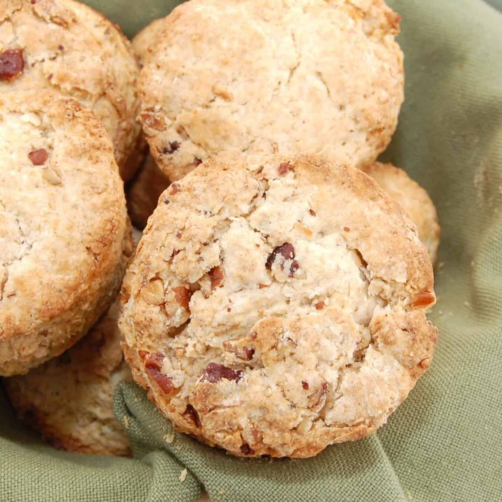 Pecan Sour Cream Biscuits