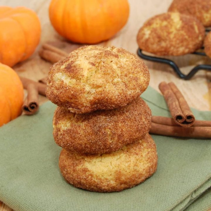 Best Pumpkin Snickerdoodles Cookie