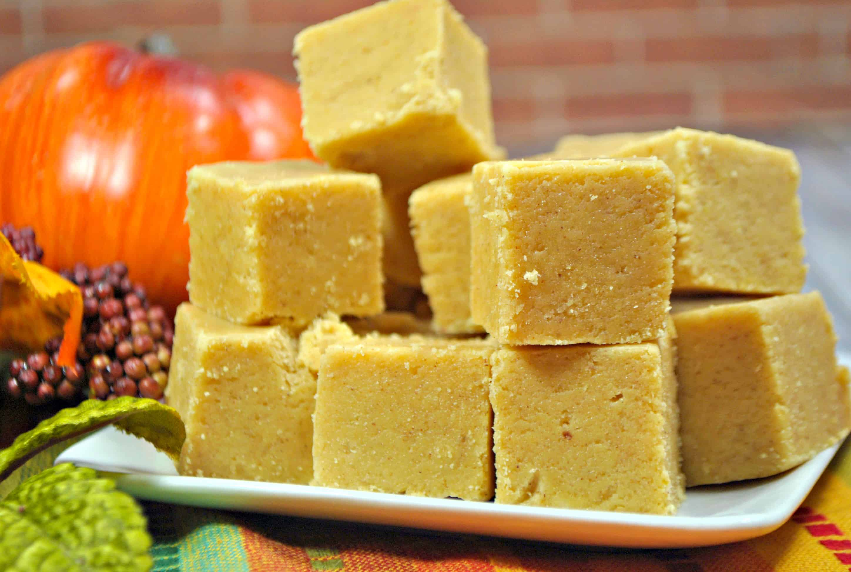 Pumpkin Spice Easy Fudge Recipe