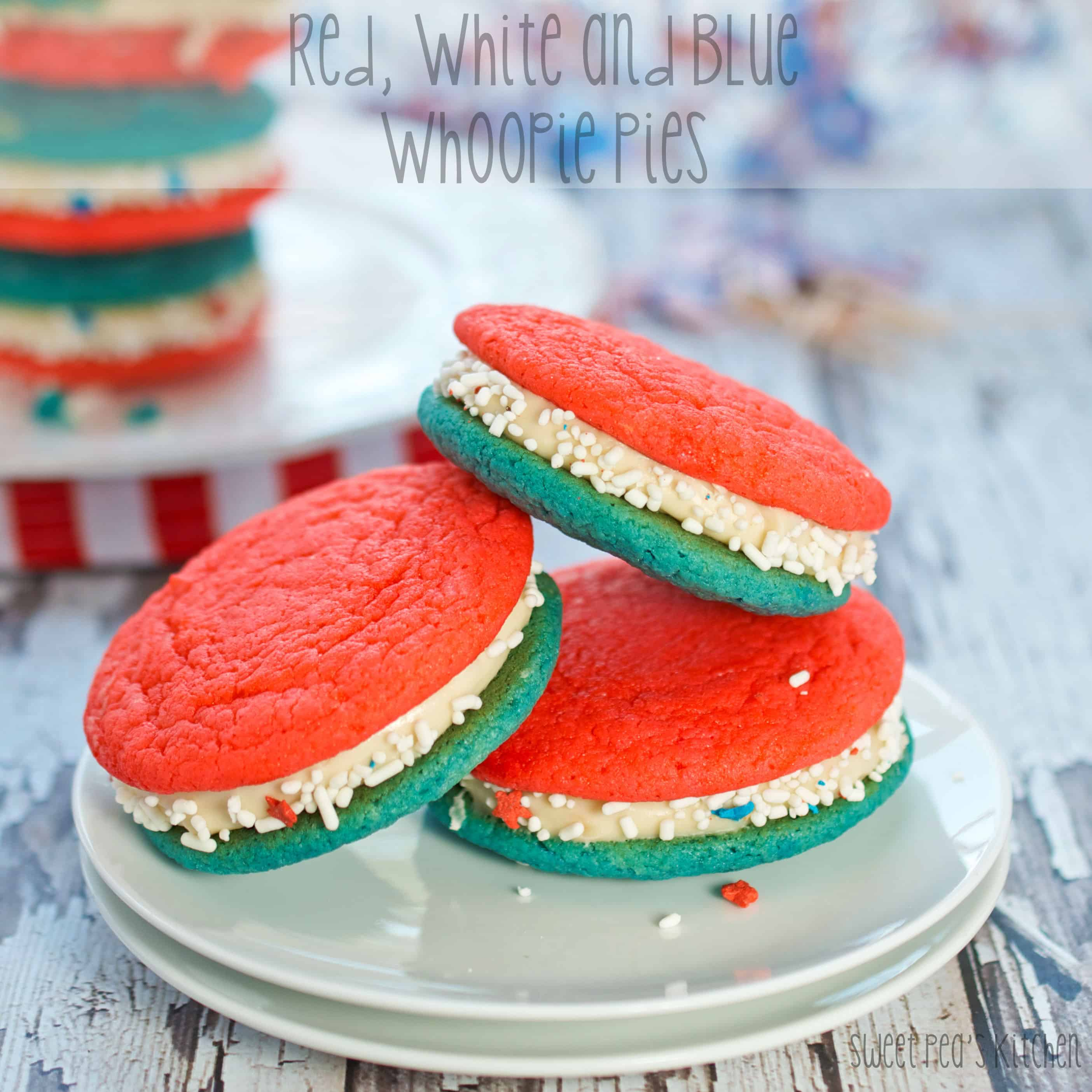 stack of cake mix whoopie pies