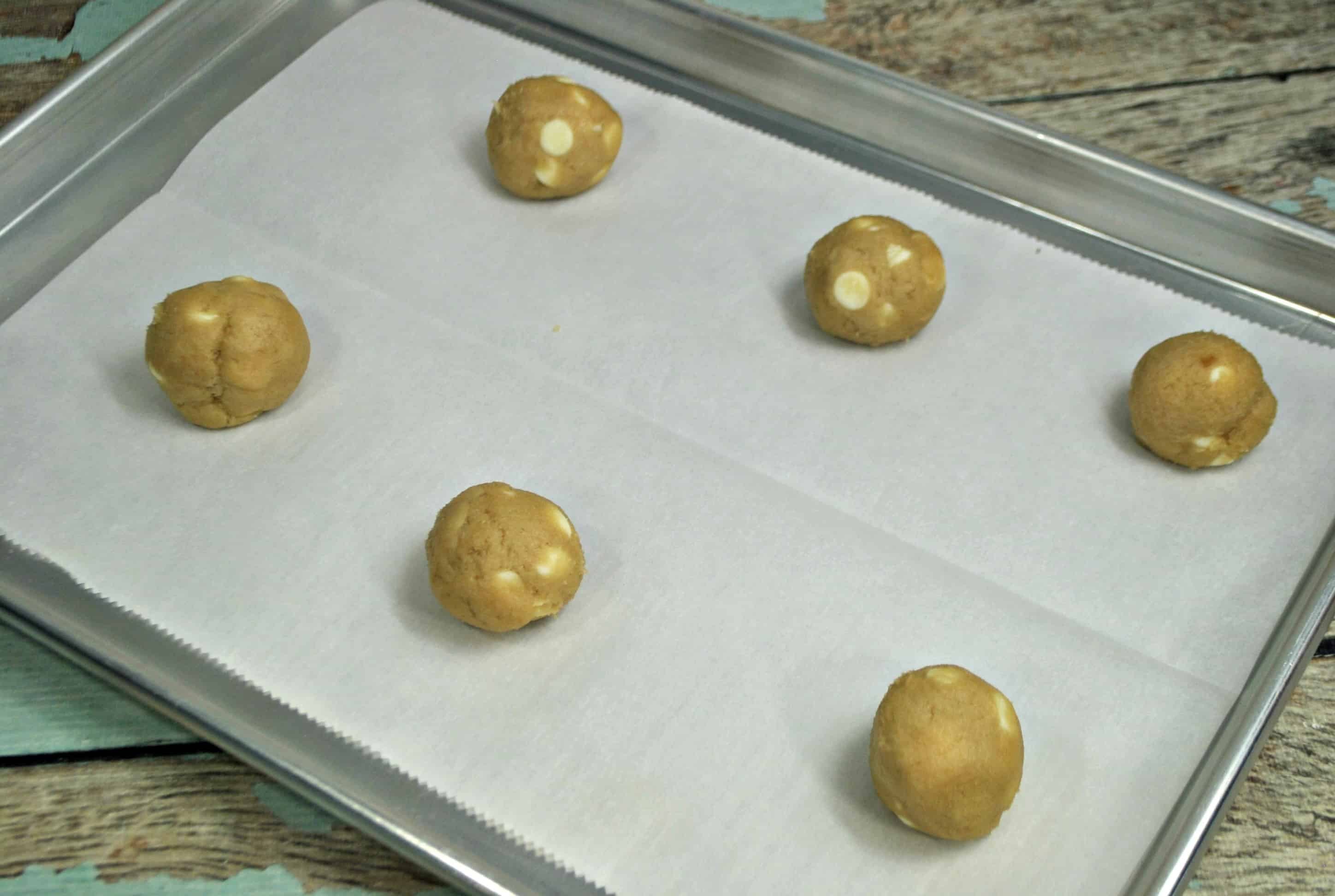 roll cookie dough