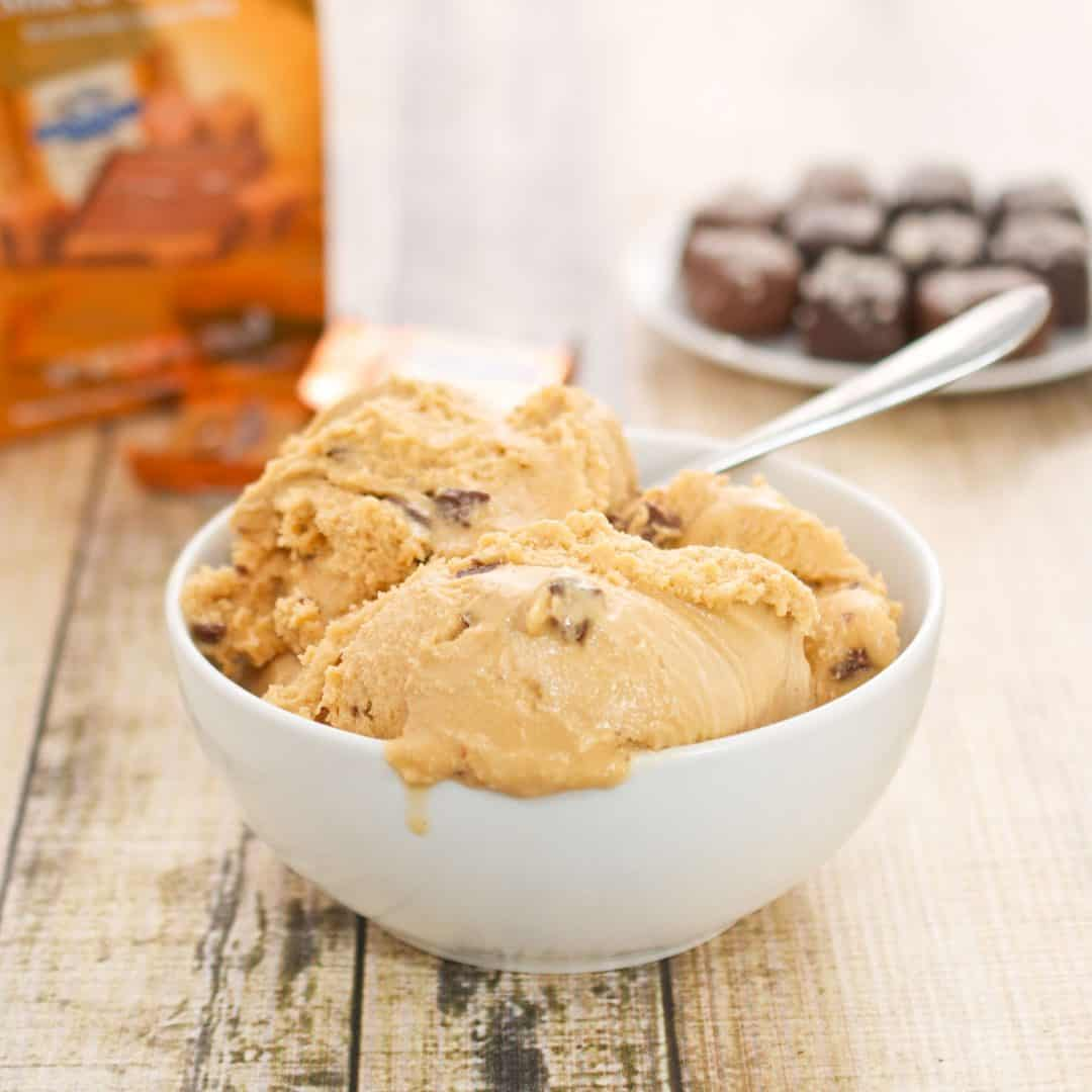 Sea Salt Caramel Truffle Ice Cream