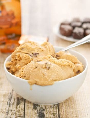 Sea Salt Caramel Truffle Ice Cream