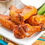 Smoked Buffalo Chicken Wings