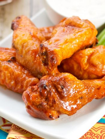 Smoked Buffalo Chicken Wings