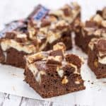 cheesecake brownie recipe ready to eat