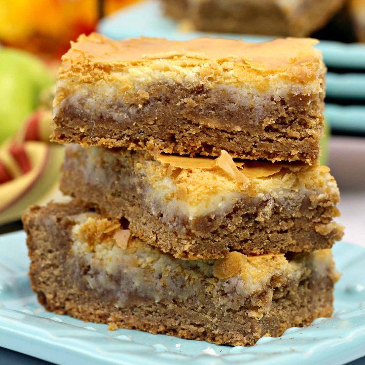 Spice Cake Cheesecake Bars Recipe
