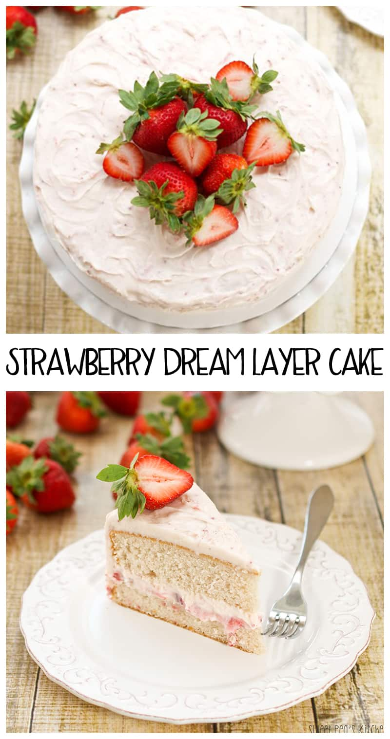 Strawberry Dream Layer Cake
