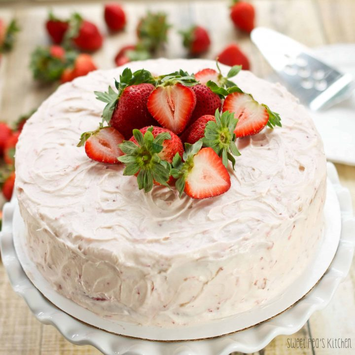 Strawberry Dream Layer Cake