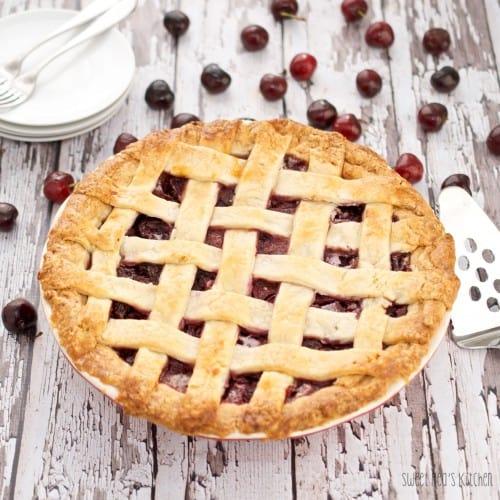 best cherry pie recipe ready to eat