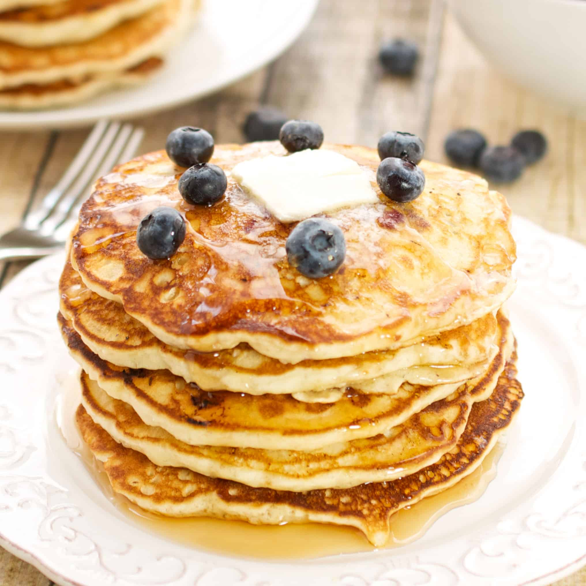 The Very Best Blueberry Pancakes