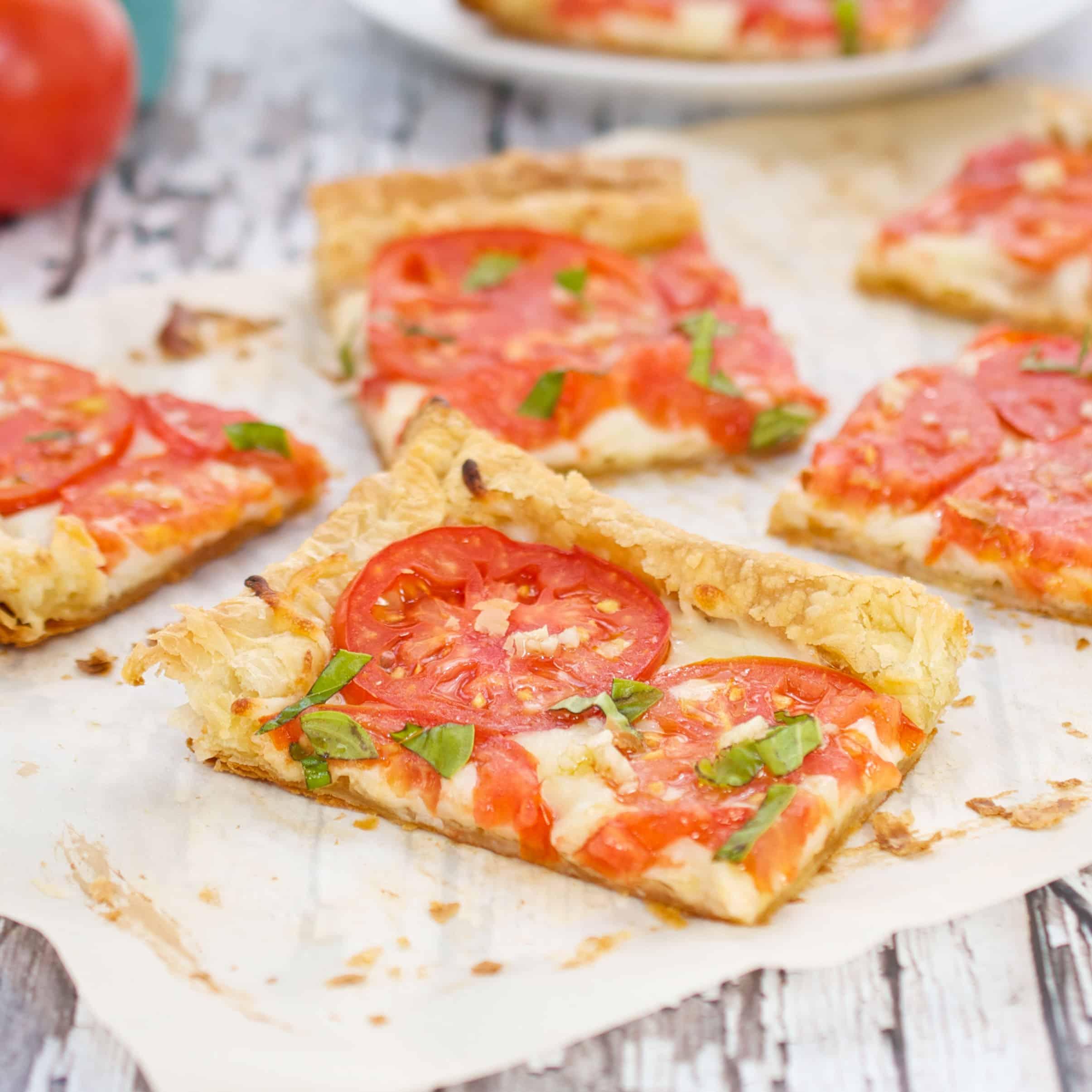 Savory Tomato Tart Recipe With Mozzarella