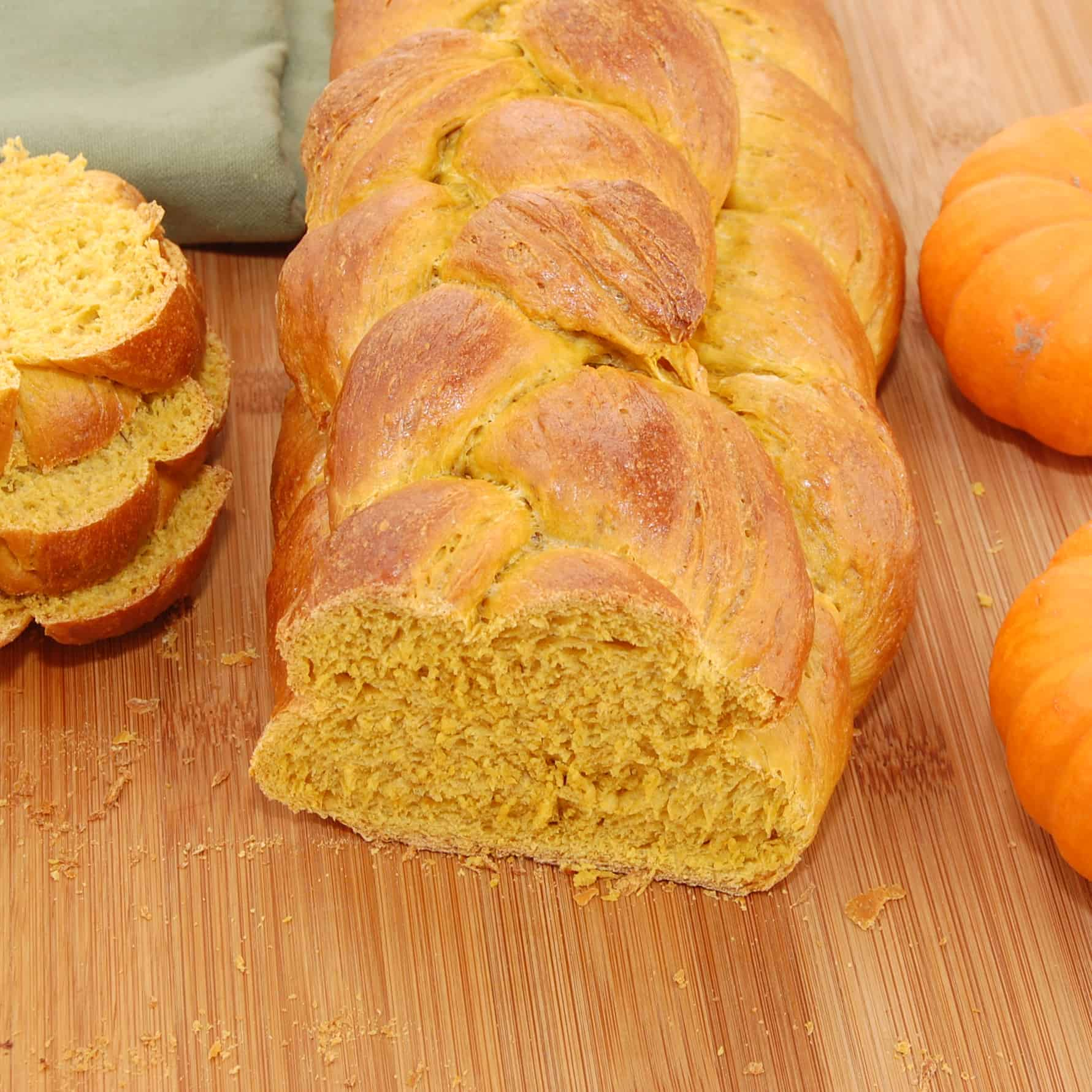 Loaf of pumpkin bread