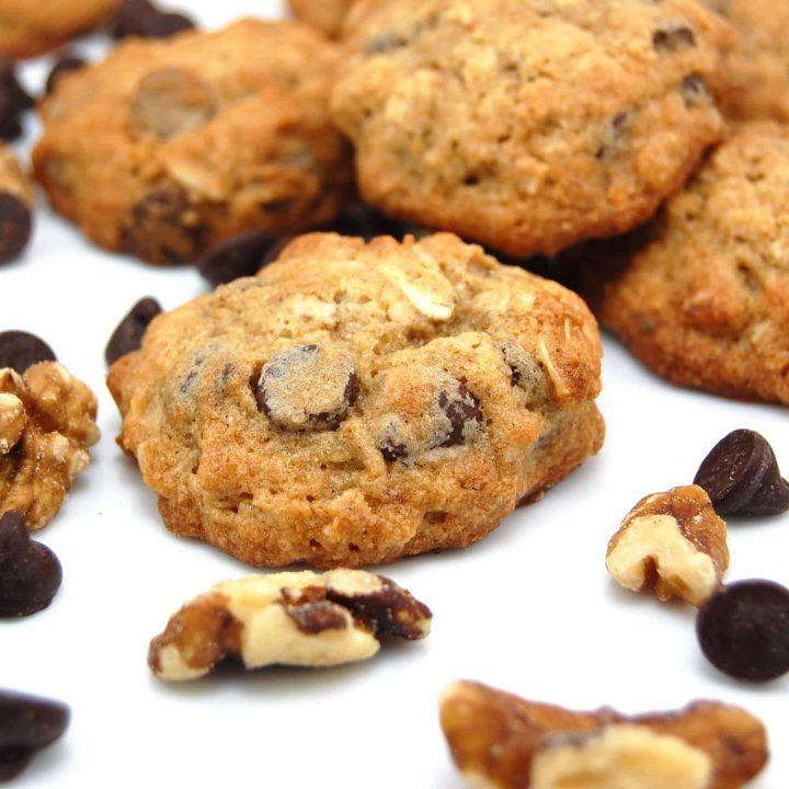 Banana-Walnut Chocolate Chunk Cookie