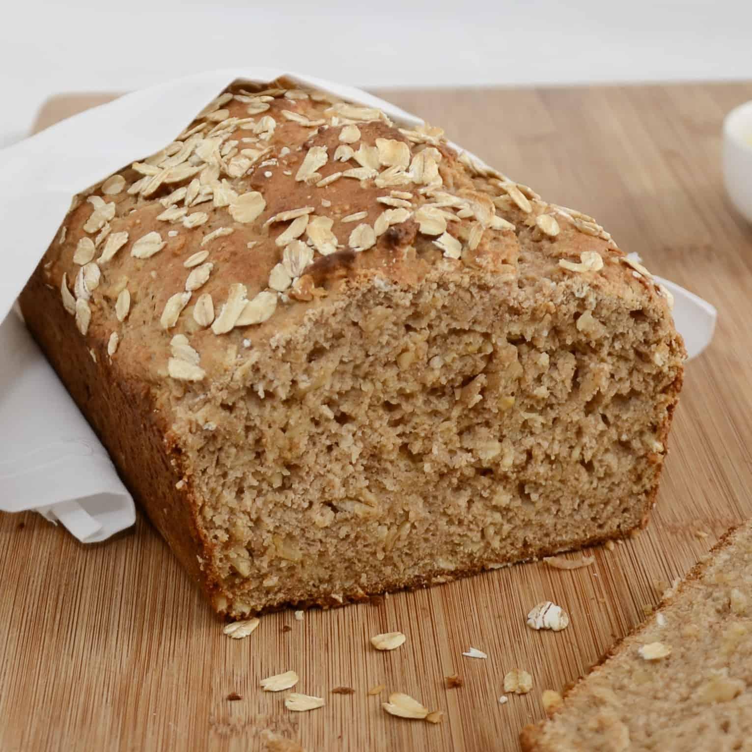 Honey Oat Quick Bread Recipe - Sweet Pea's Kitchen