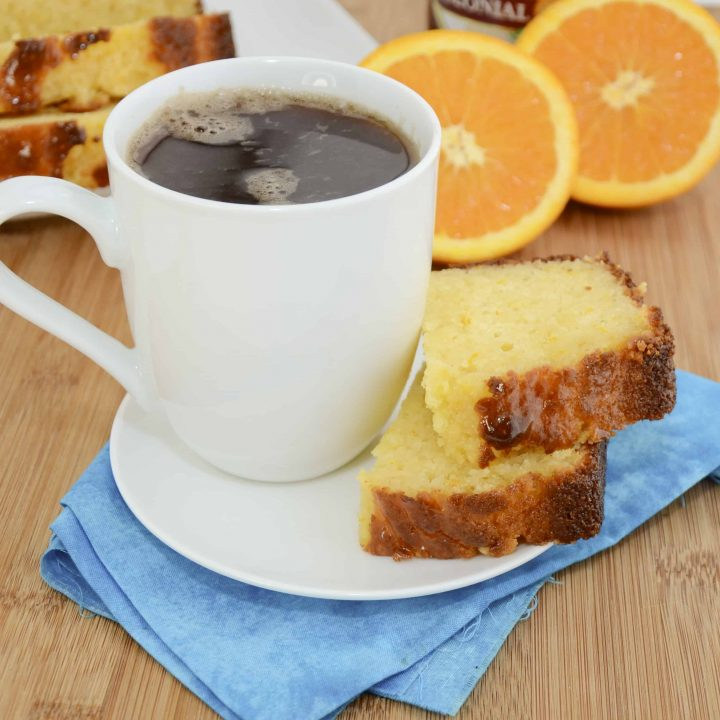 Ricotta Orange Pound Cake