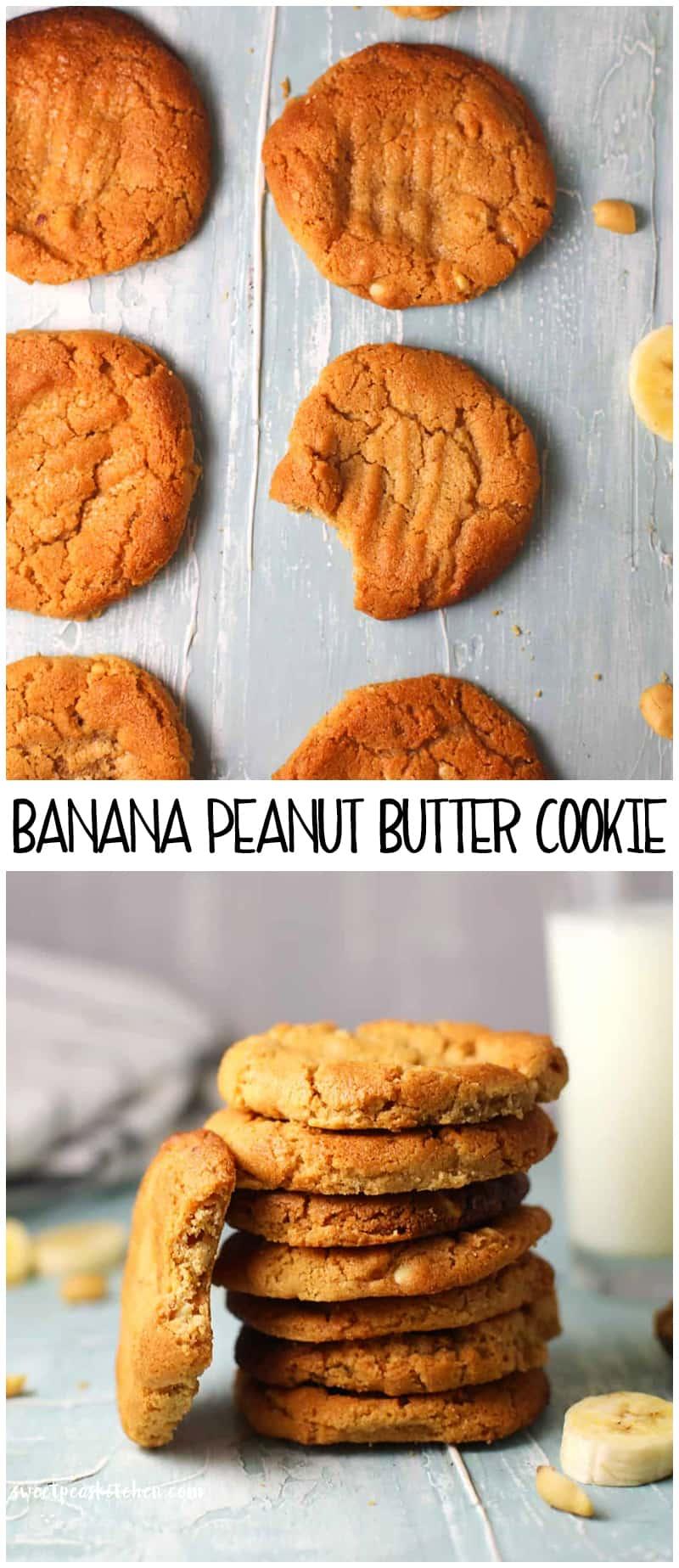 Banana Peanut Butter Cookie Recipe