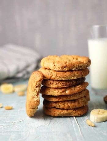 Banana Peanut Butter Cookie Recipe