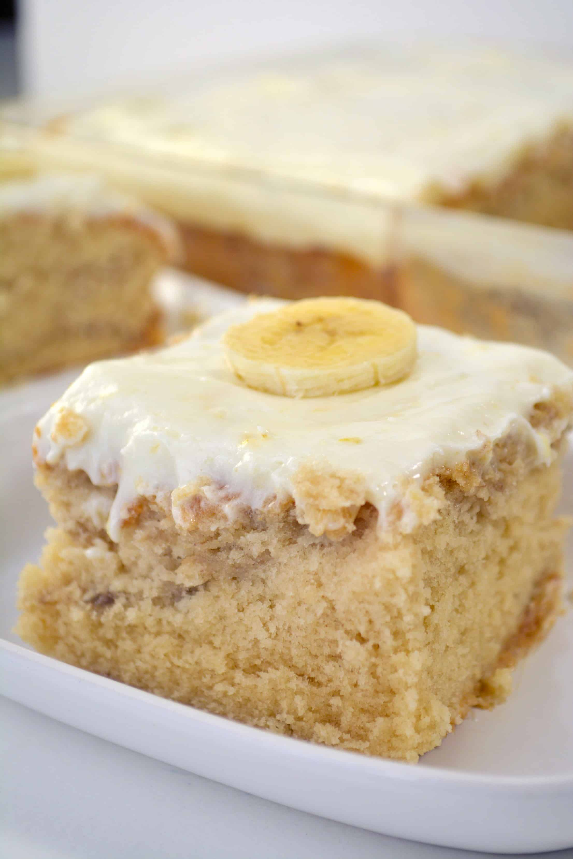Best Banana Cake Recipe with Cream Cheese Icing