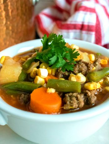 Best Ever Vegetable Beef Soup