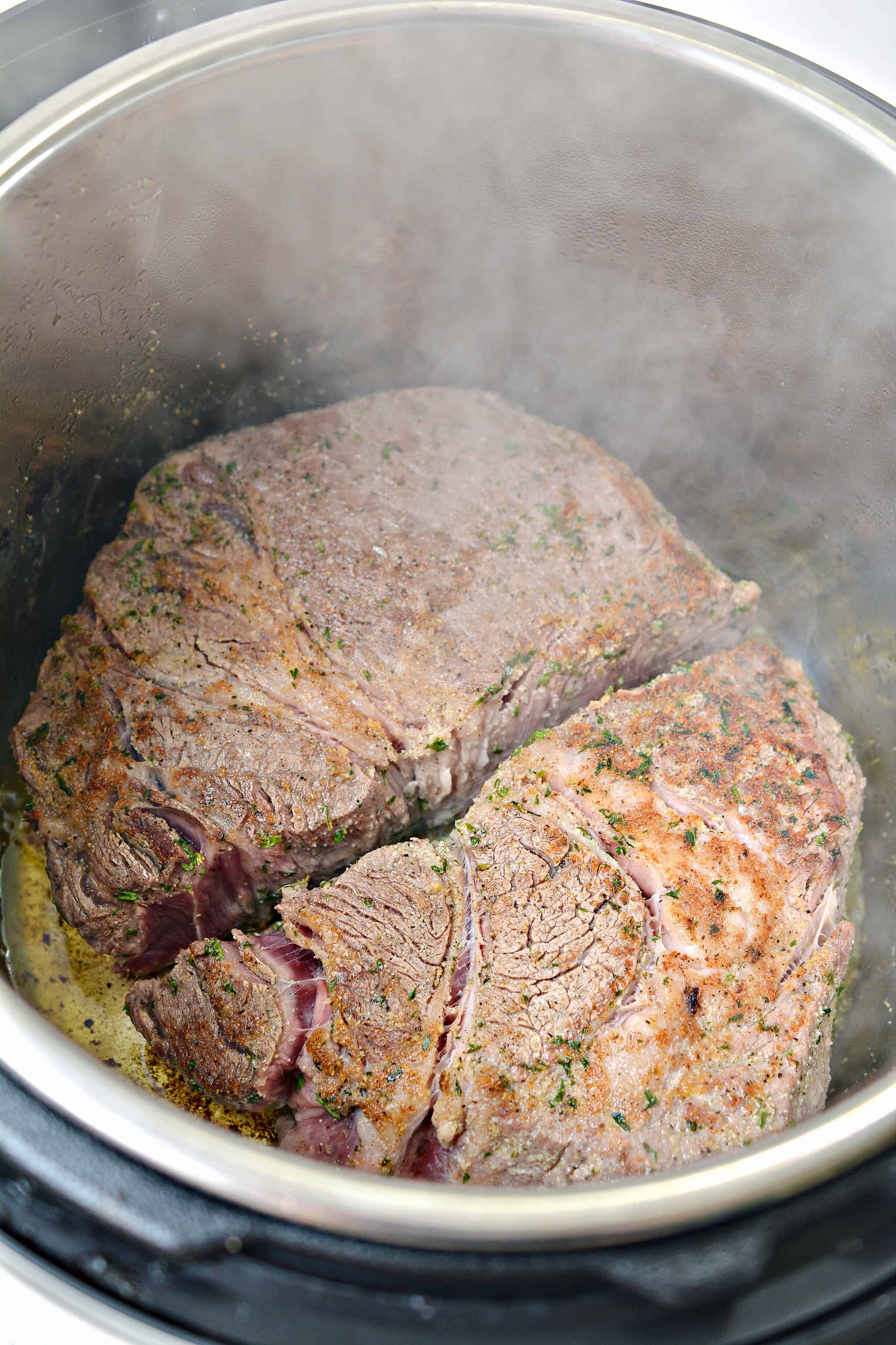 beef in the Instant Pot