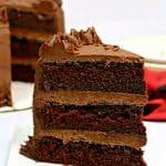 Blackout Dark Chocolate Cake Recipe