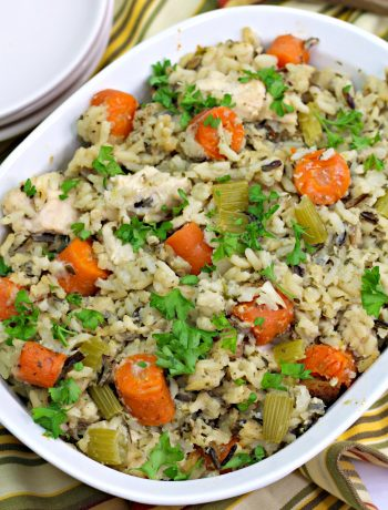 Chicken Wild Rice Casserole Recipe