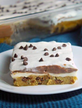 Chocolate Chip Cookie Chocolate Lasagna Recipe