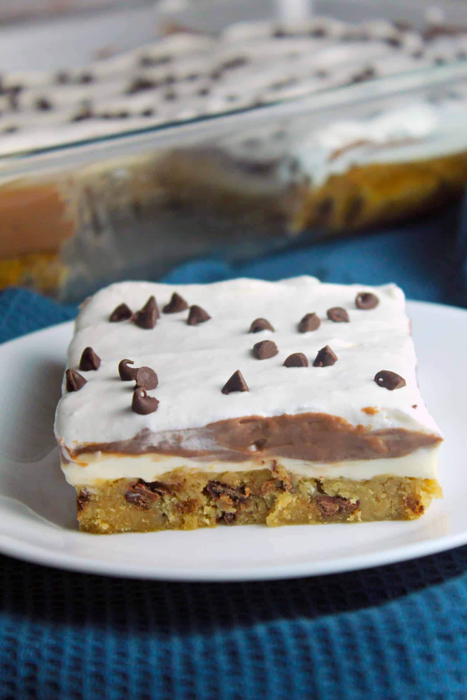 Chocolate Chip Cookie Chocolate Lasagna Recipe